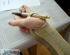 Написание текста ручкой для шейников