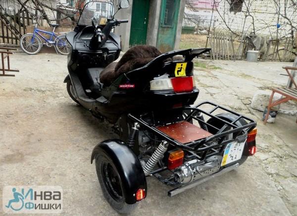 Як адаптувати скутер для людини з інвалідністю