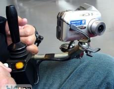 Фотоаппарат зафиксированный нв коляске