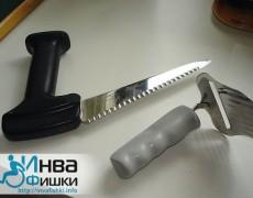 Нож для сыра с удобной ручкой