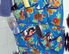 Карман для хранения аксессуаров в ванной