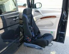 Поворотное сиденье-лифт в авто