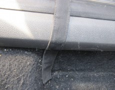 Крепление коврика изнутри