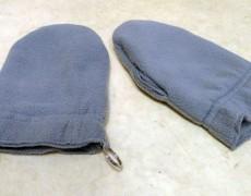 Рукавицы изготовлены из двойного слоя овечьей шерсти