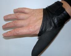 Перчатки-накладки с закрытым большим пальцем